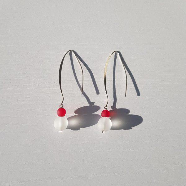 Lava Rossa Ice Earrings 1
