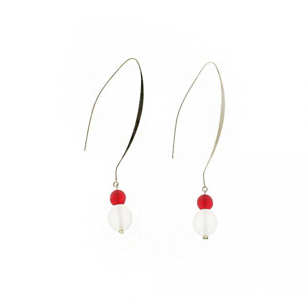 Lava Rossa Ice Earrings 3