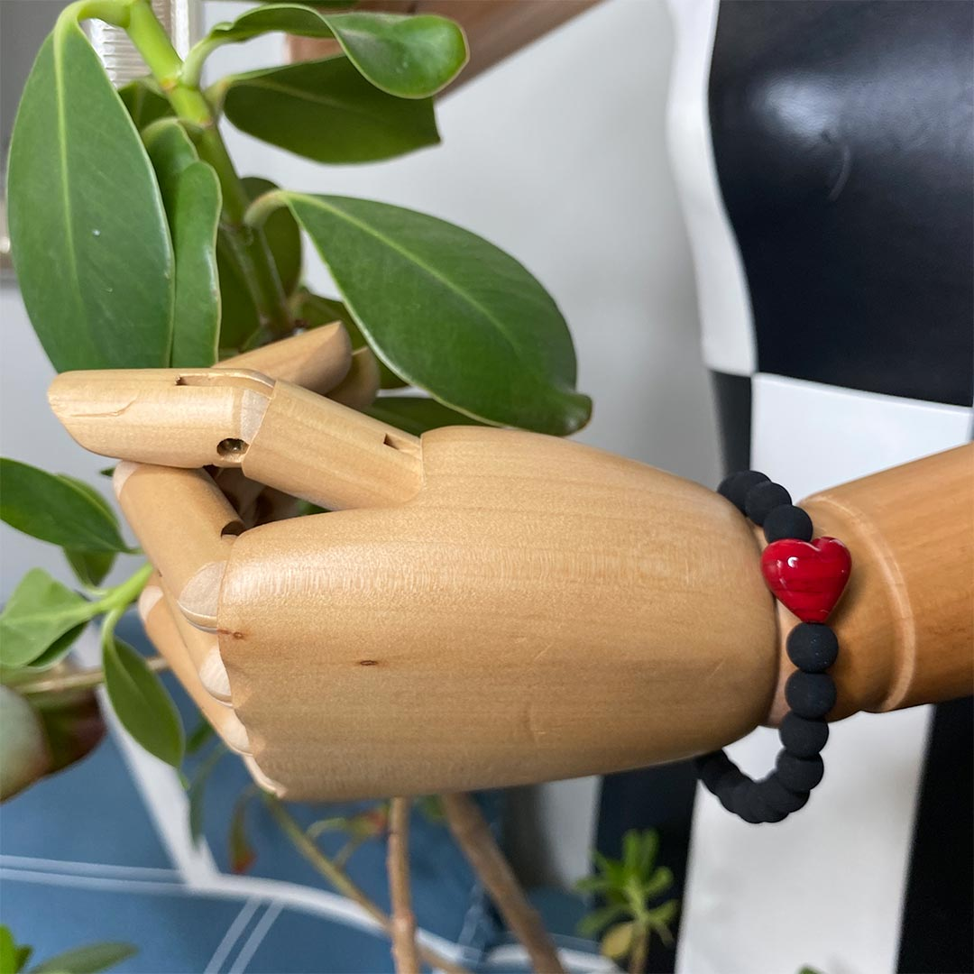 Lava Rossa Cuore Bracelet 2