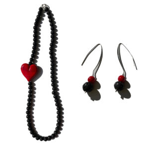 Set-Lava-Rossa-Nature-Collar-y-Pendientes
