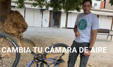 Cómo reparar un pinchazo de bici