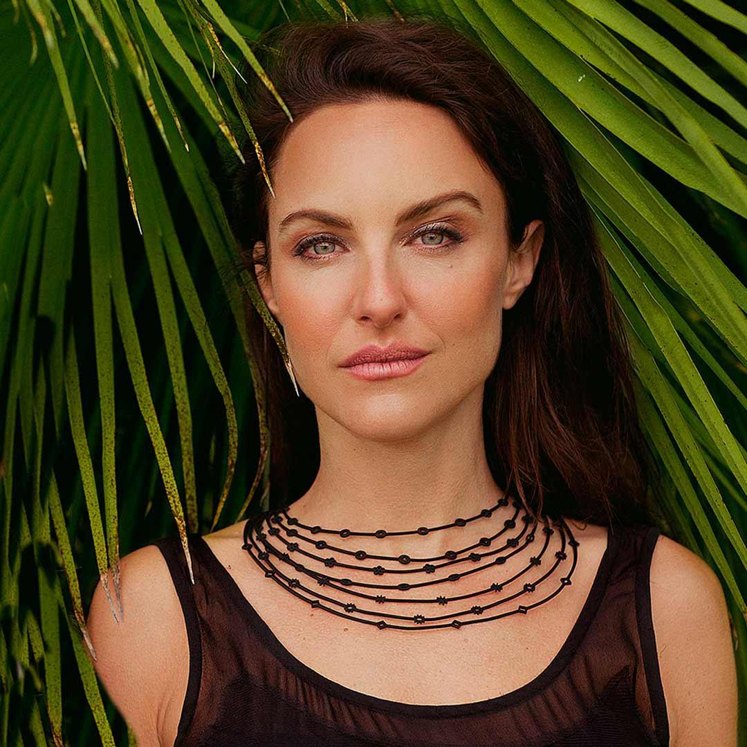 Layered Design Jewellery Necklace