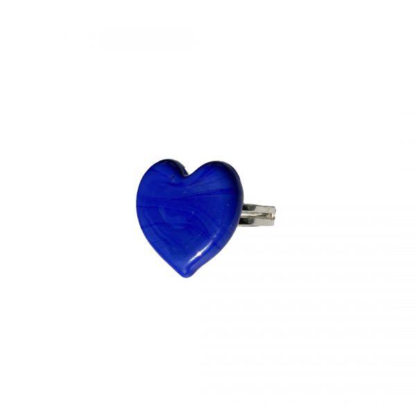Anello Design Azzurro 2
